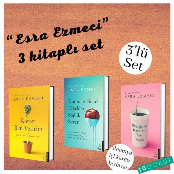 Esra Ezmeci 3 Kitaplı Set