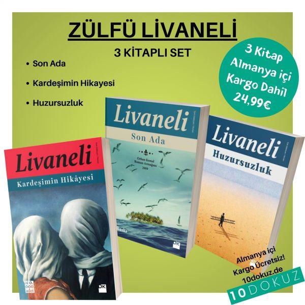 Zülfü Livaneli 3'lü SET