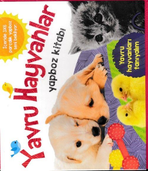 Yavru Hayvanlar Yapboz Kitabı