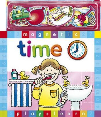 Magnetic Play Learn Zaman Ciltli