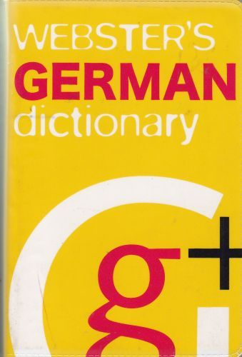 Websters German Dictionary