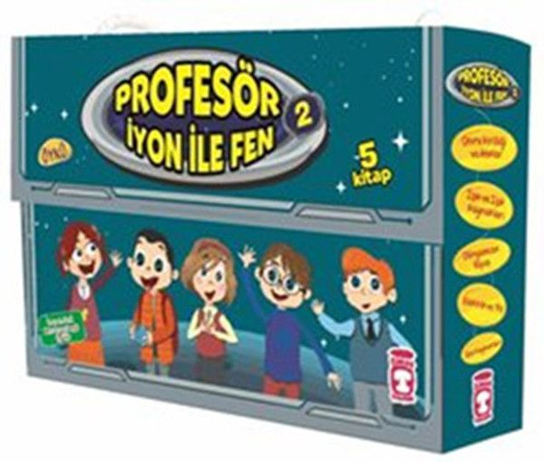 Profesör İyon İle Fen 2 5 Kitap Takım