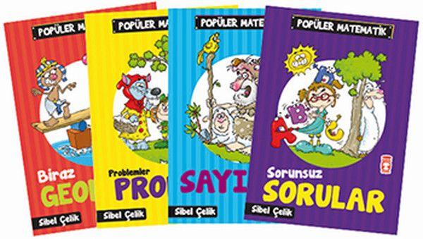 Popüler Matematik Seti 4 Kitap Takım
