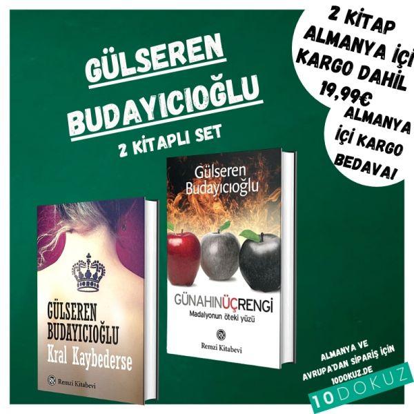 Gülseren Budayıcıoğlu 2 Kitaplı Set (Kral Kaybederse ve Günahın üç Rengi)