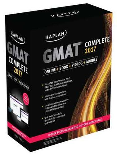 GMAT Complete 2017 Box Set 4 Books
