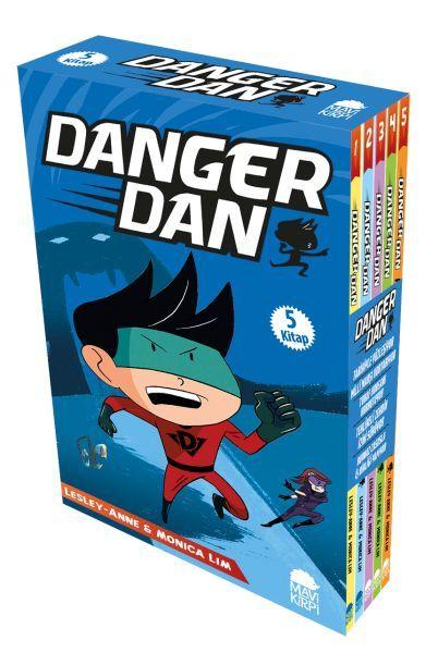 Danger Dan Set 5 Kitap