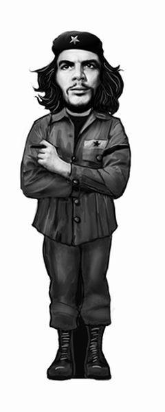 Ayraç Che Guevara Siyah