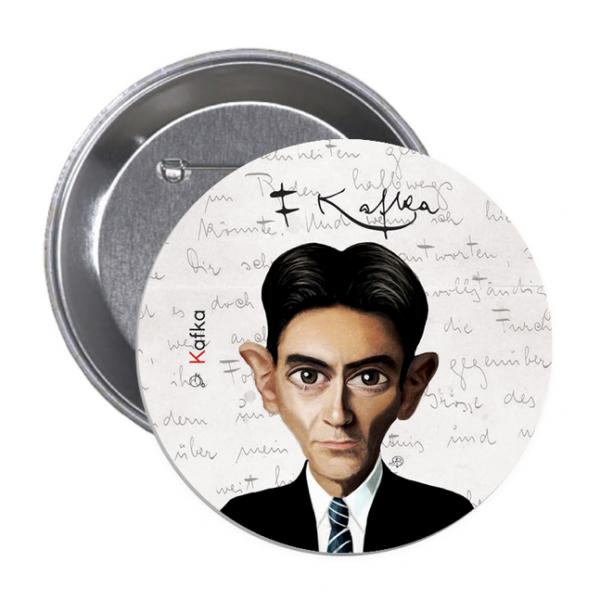 Franz Kafka - Button