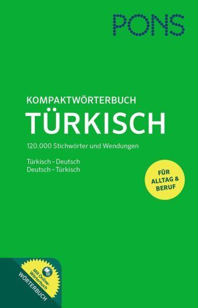 Pons Kompaktwörterbuch Türkisch Ciltli