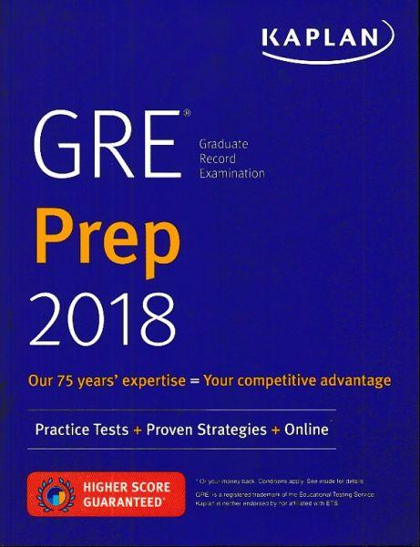 GRE Prep 2018 Practice Tests Proven Strategies Online